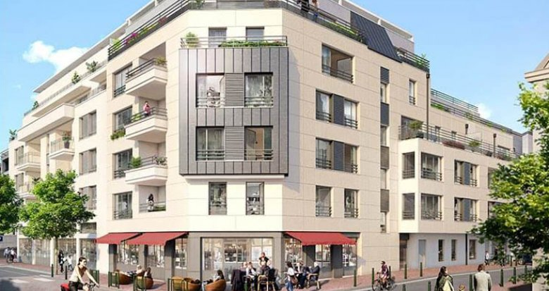 Achat / Vente immobilier neuf Suresnes proche gare (92150) - Réf. 2275