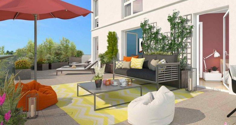 Achat / Vente immobilier neuf Villeneuve-la-Garenne face au centre commercial Qwartz (92390) - Réf. 1956
