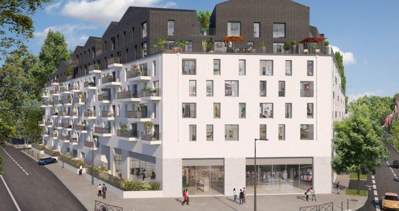 Achat / Vente immobilier neuf Villeneuve-la-Garenne La Bongarde (92390) - Réf. 2607